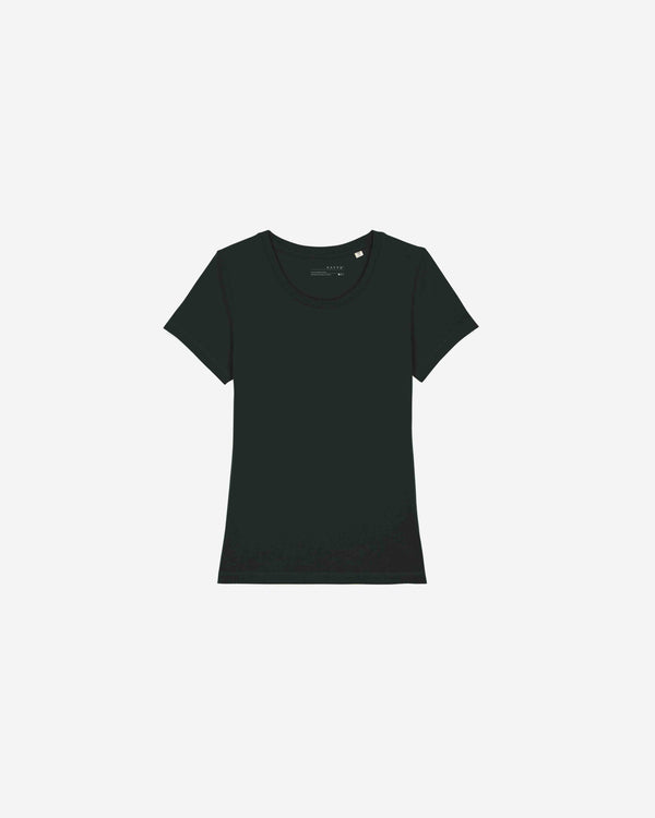 Womens Black Organic Everyday Luxury Essential | WB0ELE