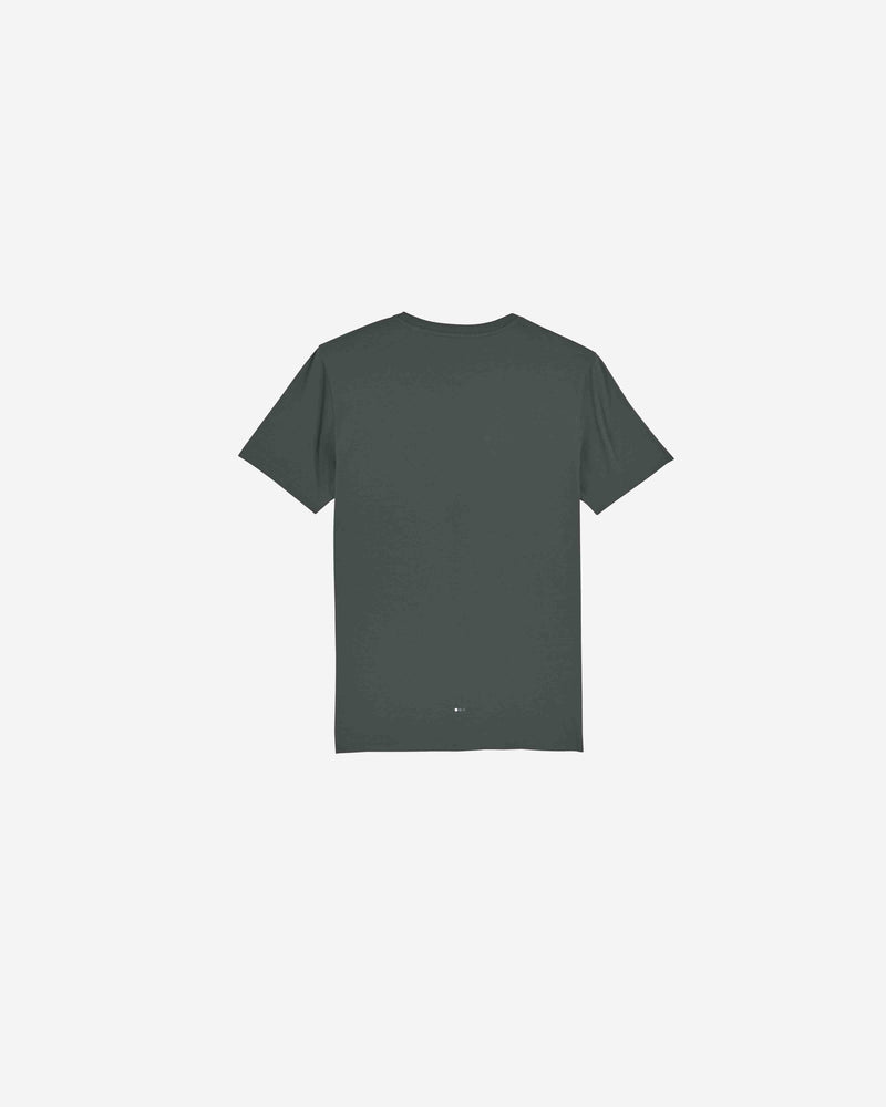 Charcoal Slogan Organic Cotton T-shirt | CSOCT