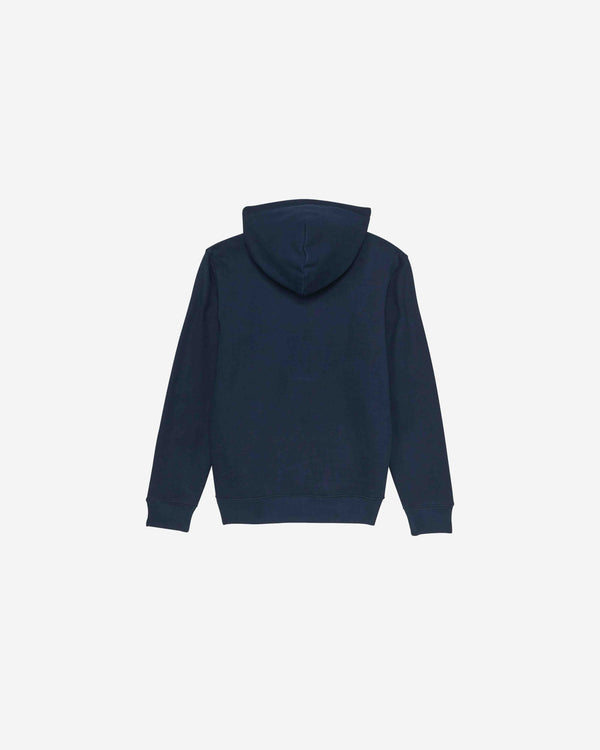 Navy Organic Cotton Message Hoodie | NOCMH