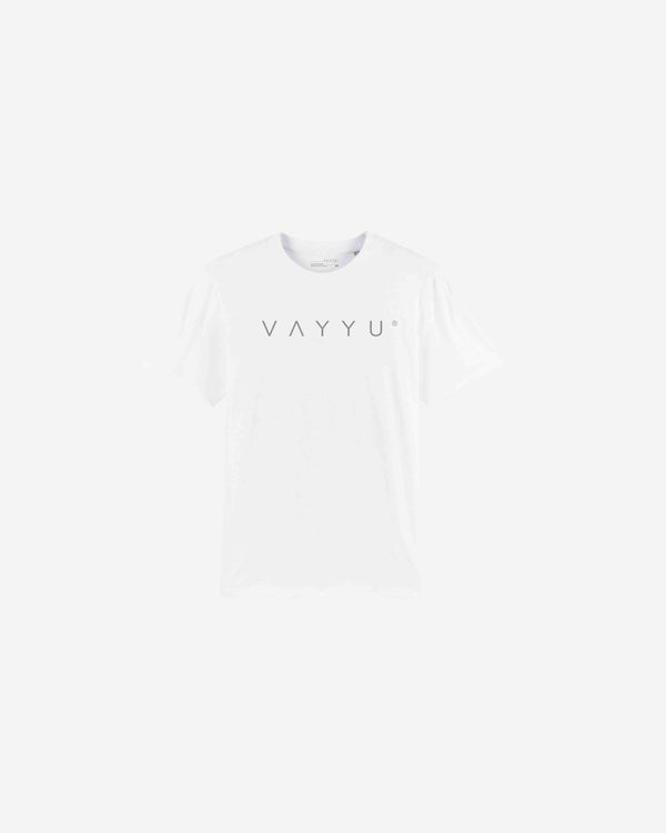 White Slogan Organic Cotton T-shirt | NSOCT