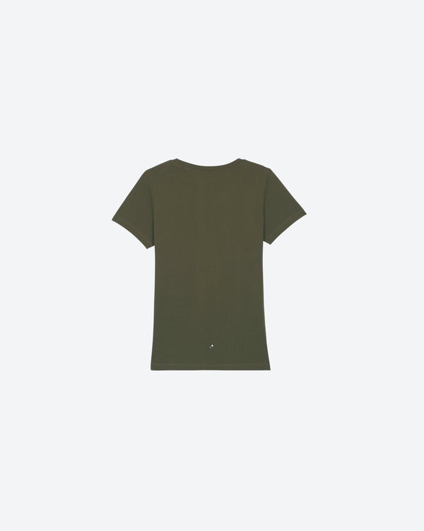 Womens Khaki Organic Everyday Luxury Essential | WK0ELE