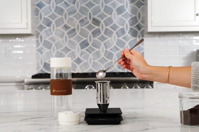 Brumi: Dual Pour over Hot & Cold Brew Bottle
