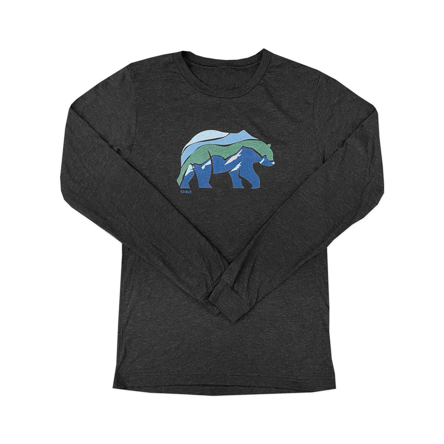GUYS MTN BEAR LONG SLEEVE TEE