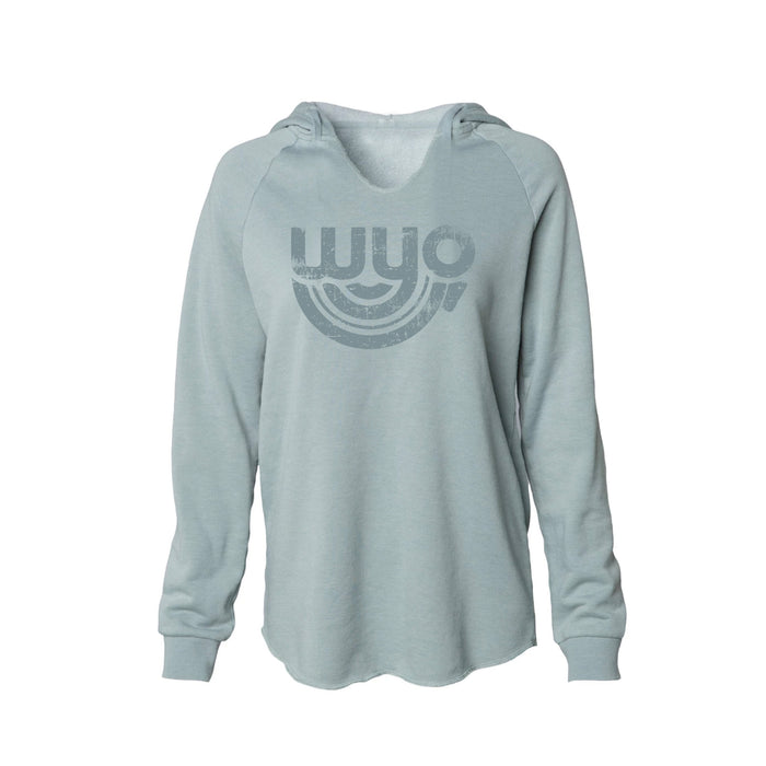 GALS SCOOP BOTTOM WYOMING BOW SWEATSHIRT