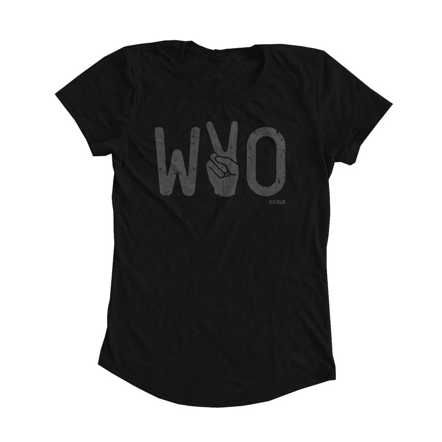 GALS METALLIC WYO VICTORY FIT TEE