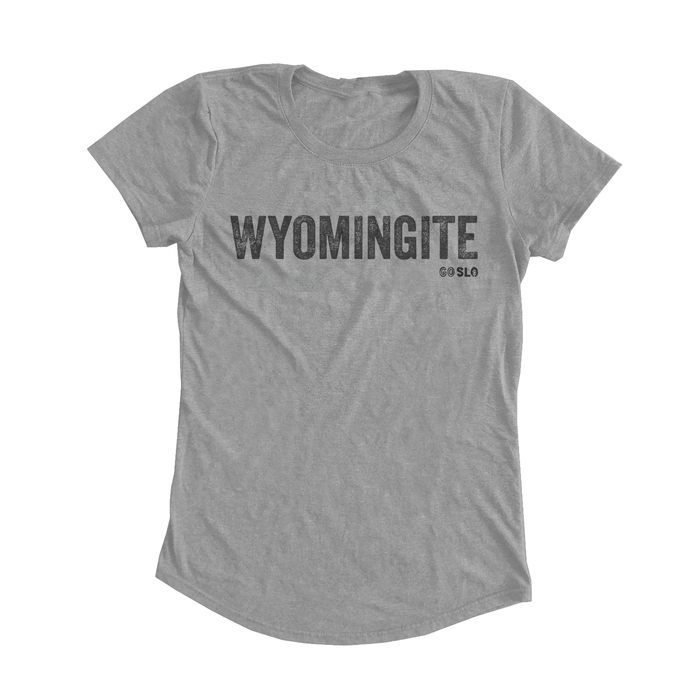 GALS WYOMINGITE FIT TEE