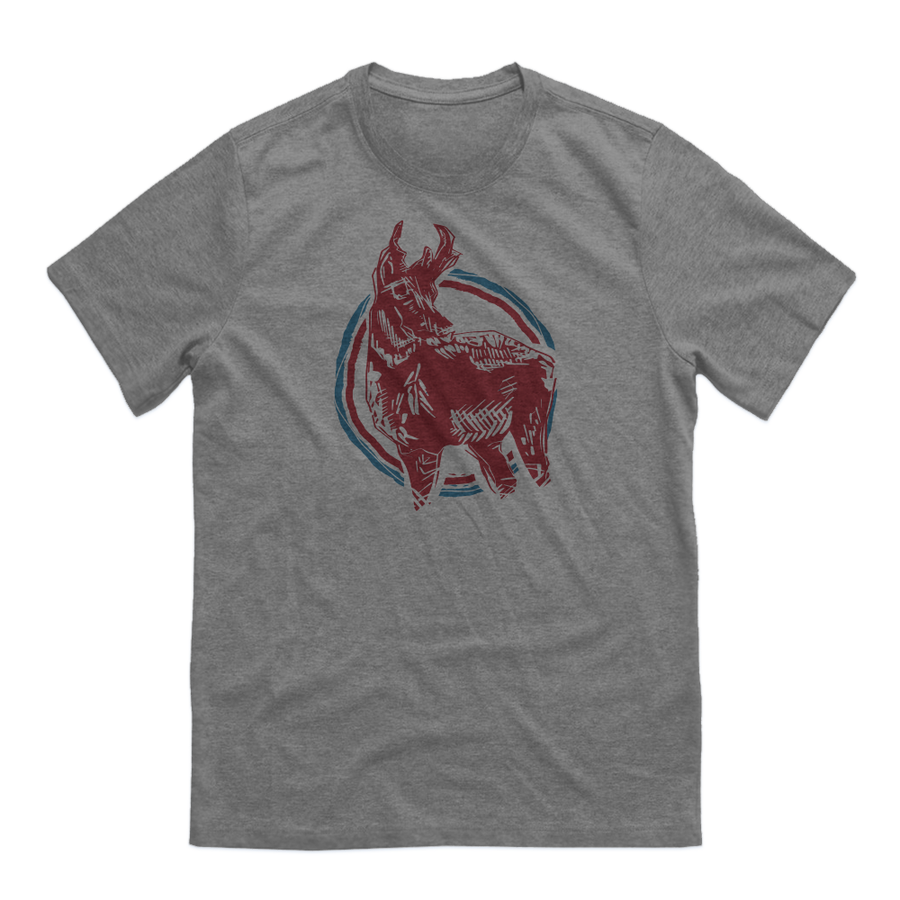 GUYS WYOMING PRONGHORN TEE