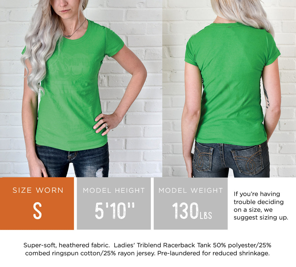 Ladies' Buffalo Squiggle Fit Tee
