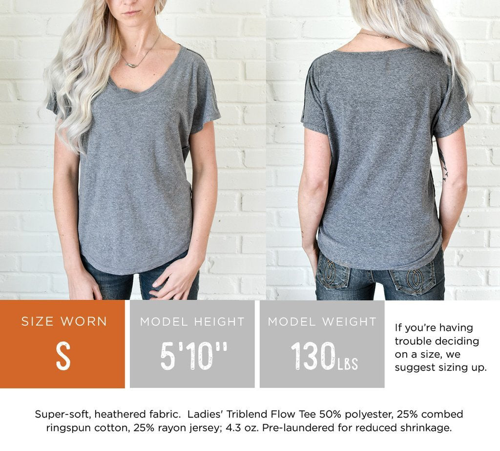 Ladies' TriTops Flow Tee