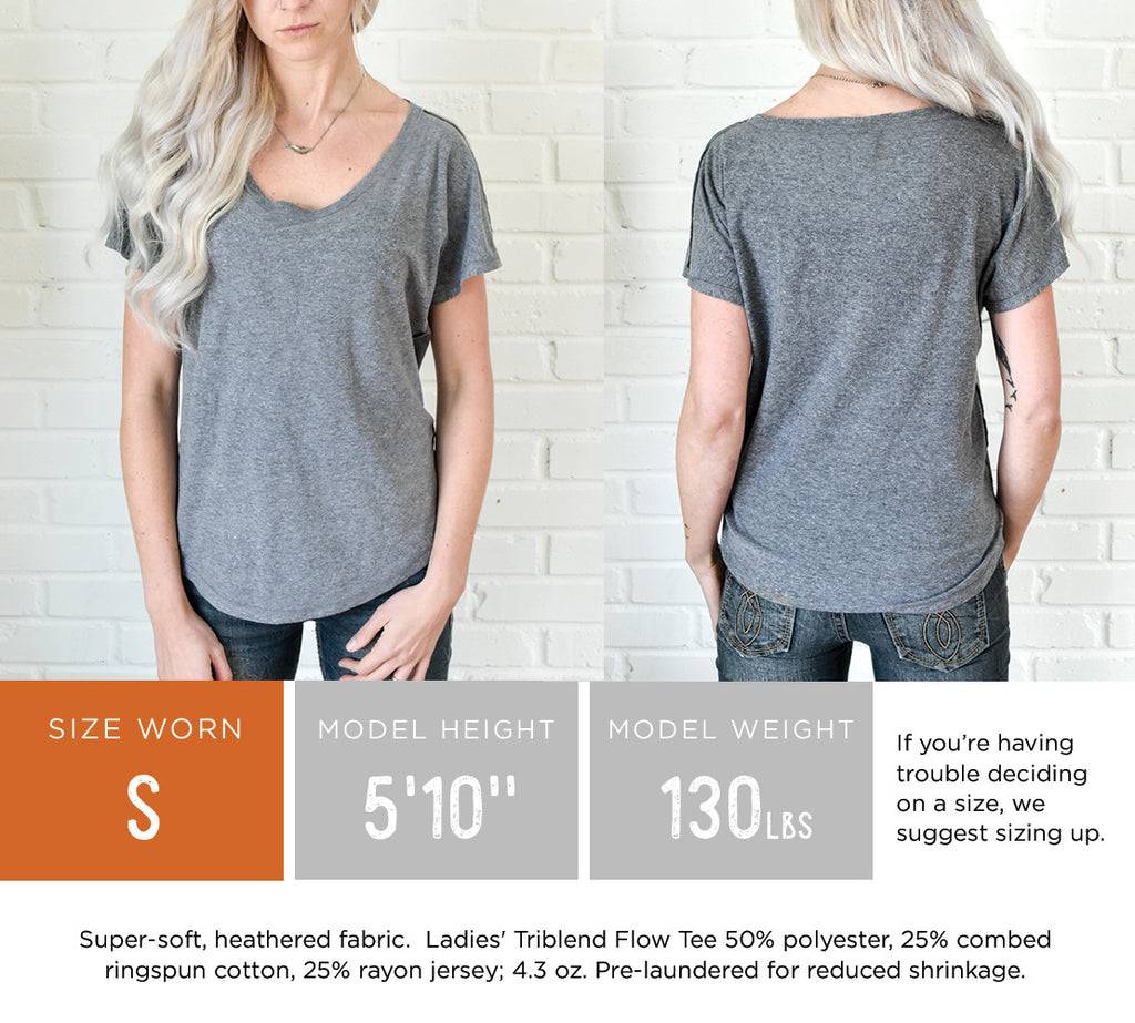 WYO // Gals Devil's Tower Flow Tee