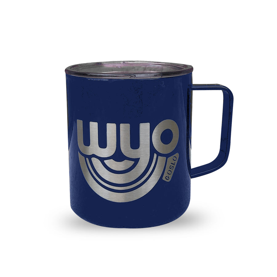 WyoBow Insulated Camp Coffee Mug - 14oz