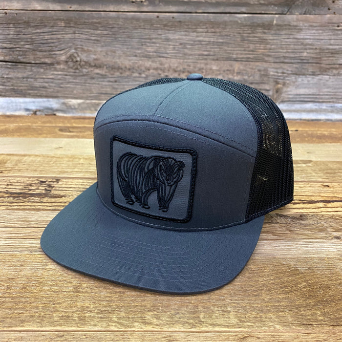 Go Slo Bear Patch Trucker Hat
