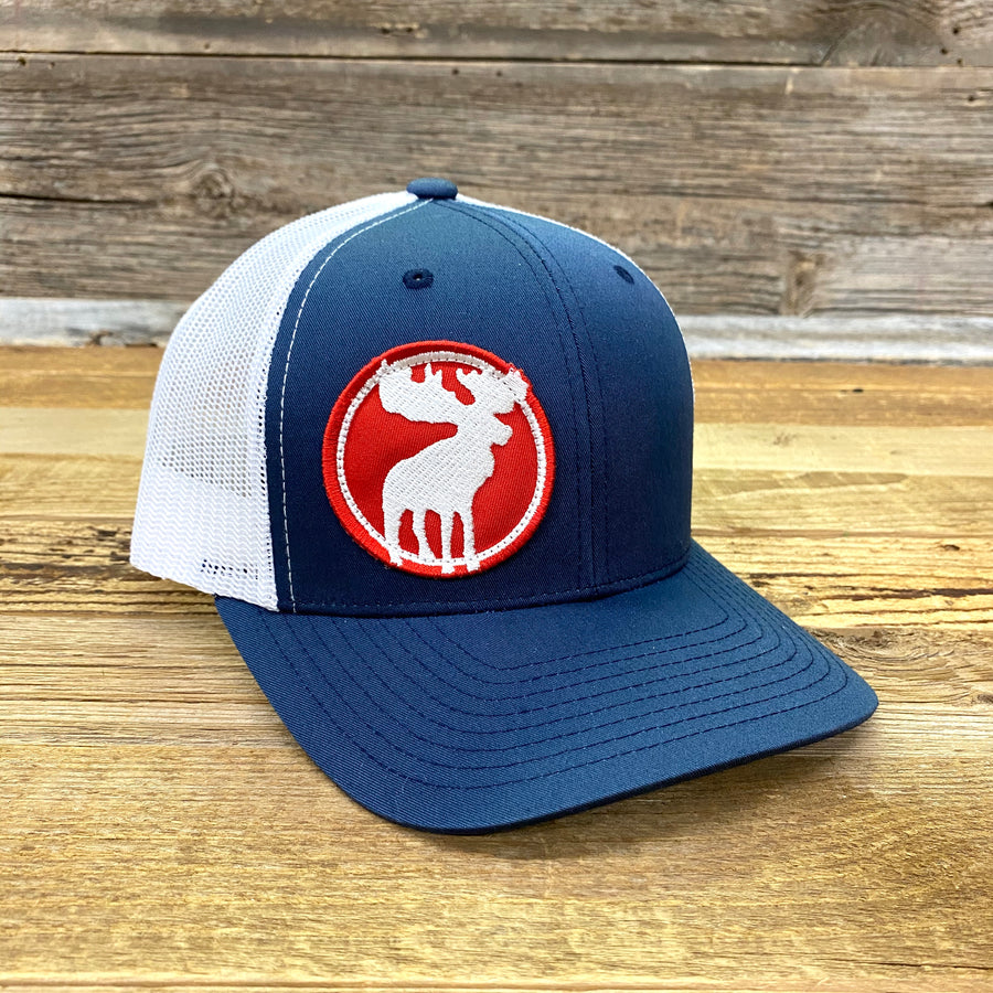 Go Slo Moose Patch Hat