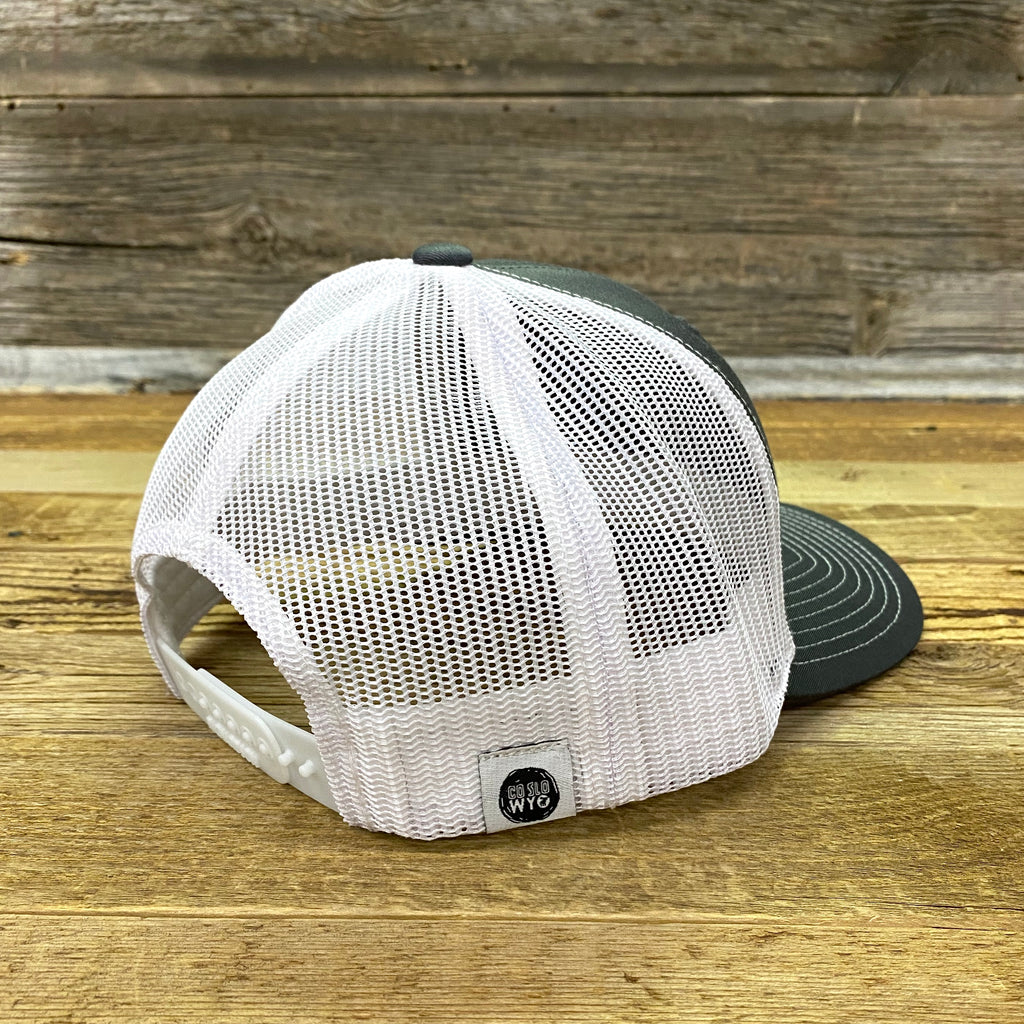 Mint Mini Trees Trucker Cap