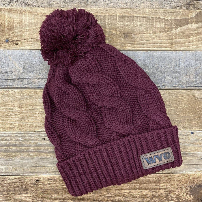 Wyo Peace Knit Hat