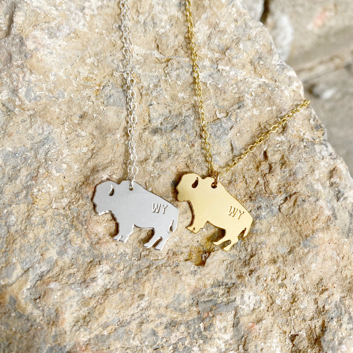 WY Bison Necklace