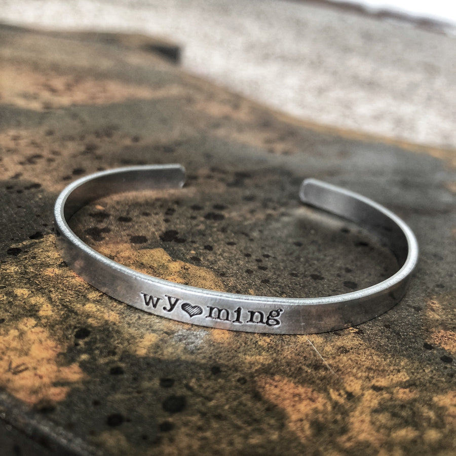 Wyoming Love Cuff