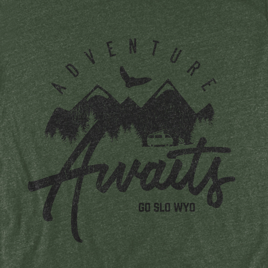 Ladies' Adventure Awaits Flow Tee