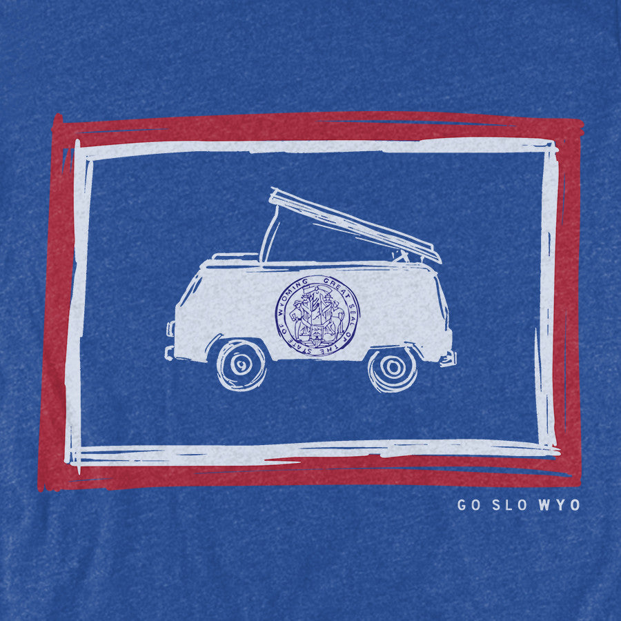 Gents' Bus Flag Tee