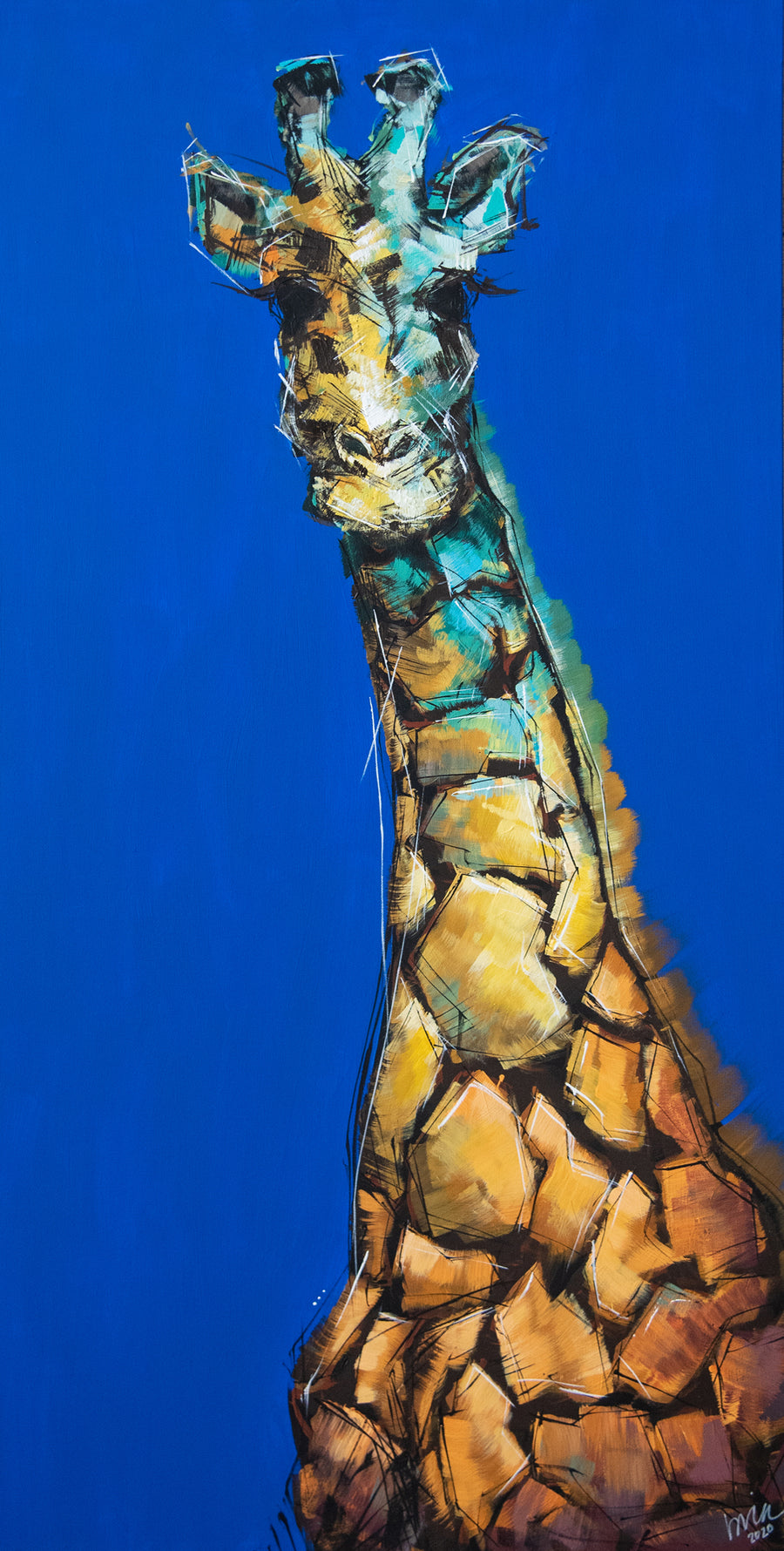 Phil the Giraffe Original Painting