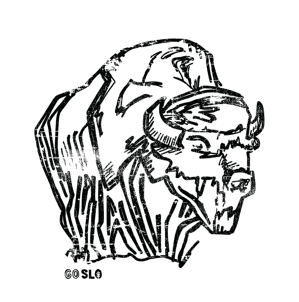 Guys Illustrated Bison Tee
