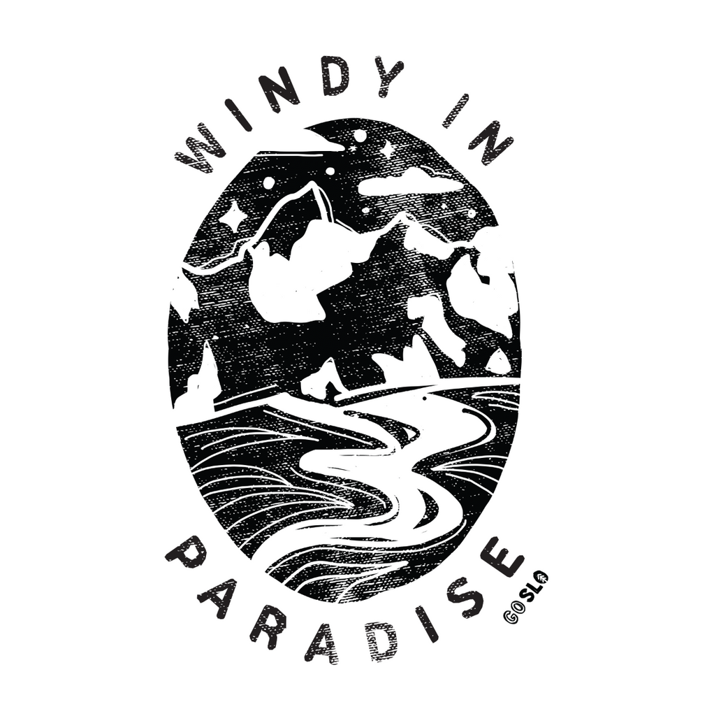 Guys Windy in Paradise Tee