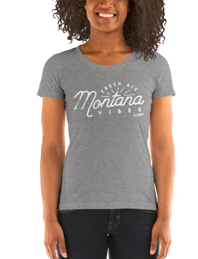 Gals Montana Vibes Fit Tee