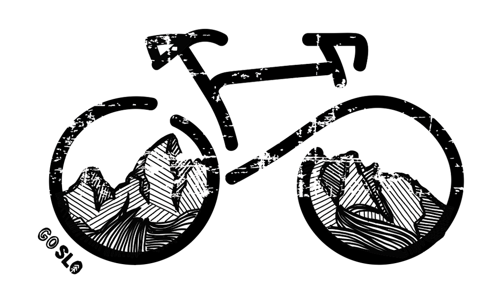 GUYS BIKE THE TETONS TEE