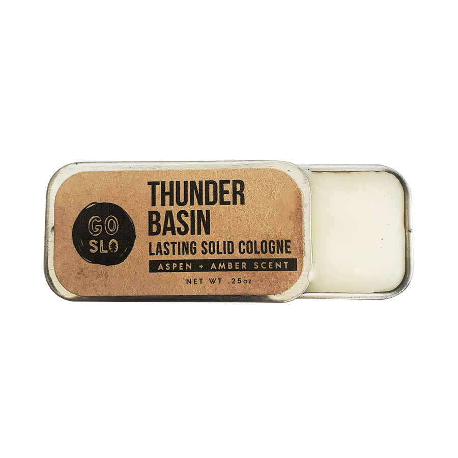 Thunder Basin // Solid Cologne