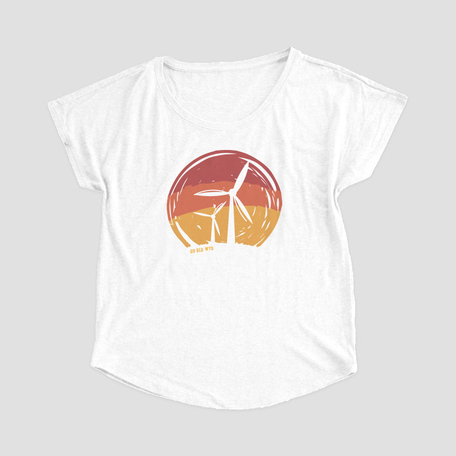 Ladies' Turbine Flow Tee