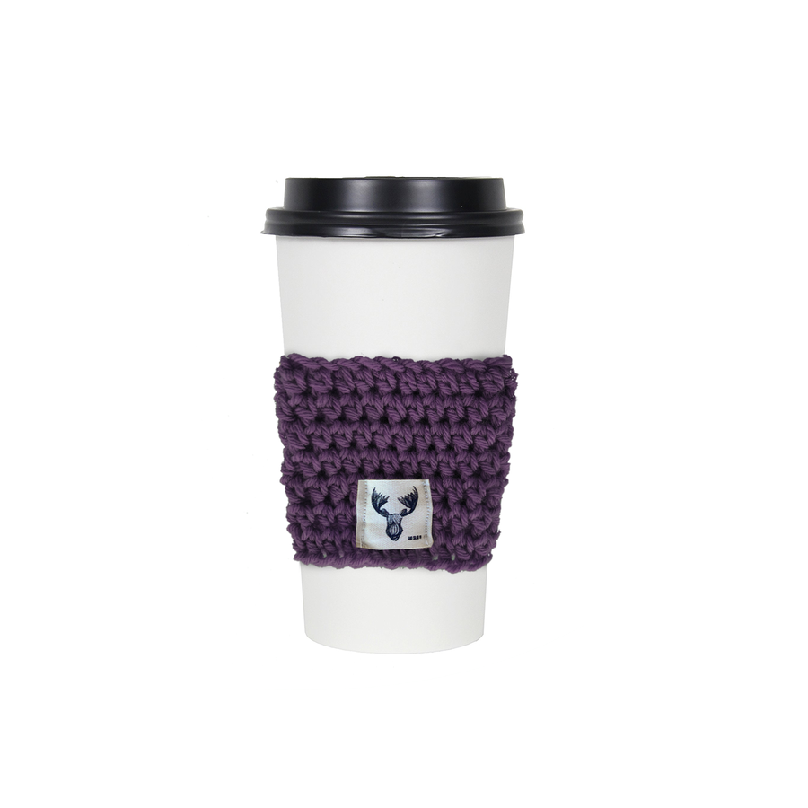 Berry Knit Coffee Sleeve