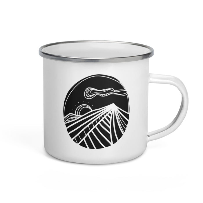 Sunrise Camp Mug // Art321 x Go Slo