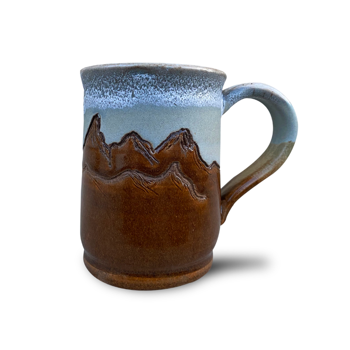 Hand-thrown Wyoming Teton Mug