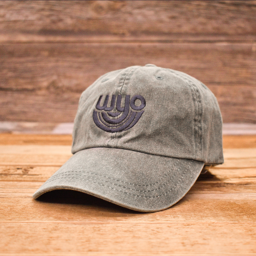 Sage WyoBow Dad Cap