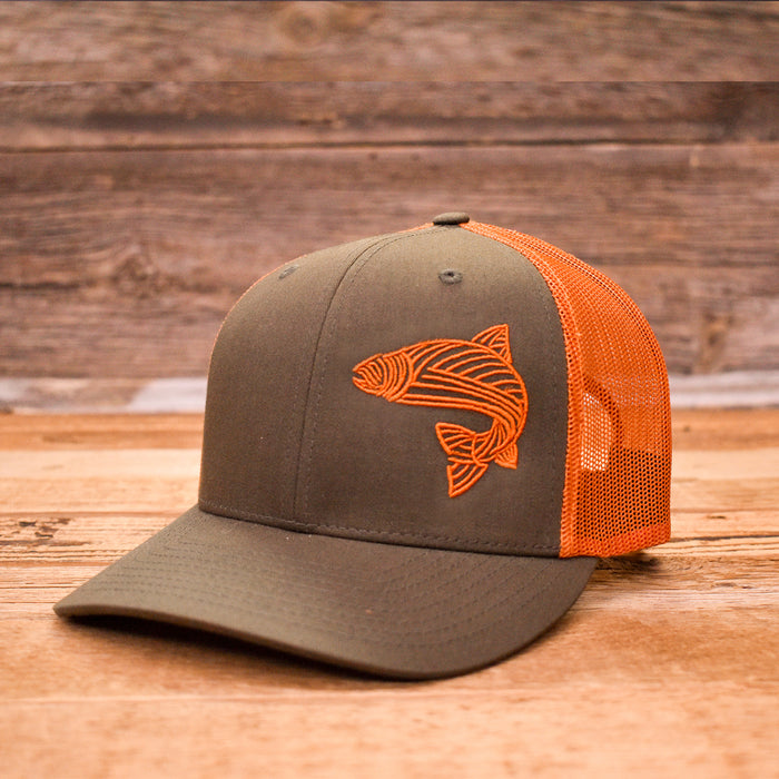 Gone Fishing Trucker Cap