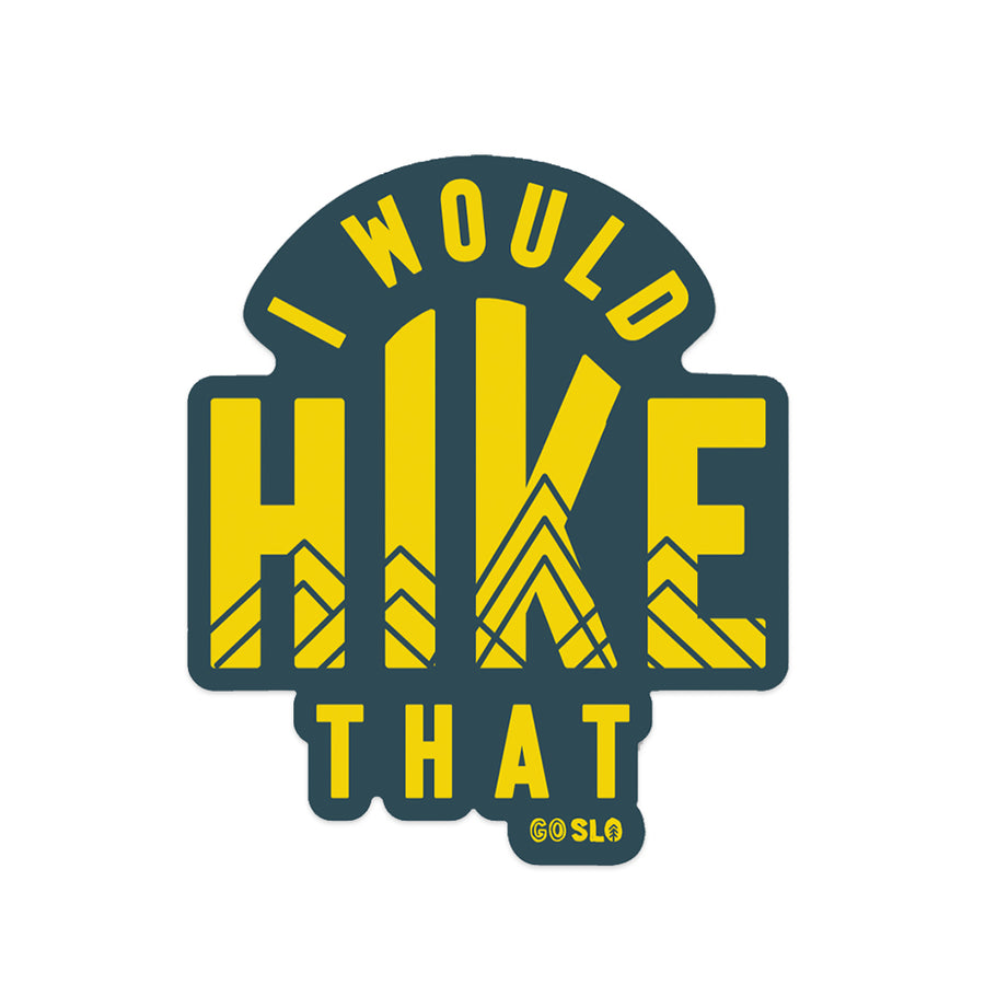 Hike That Sticker
