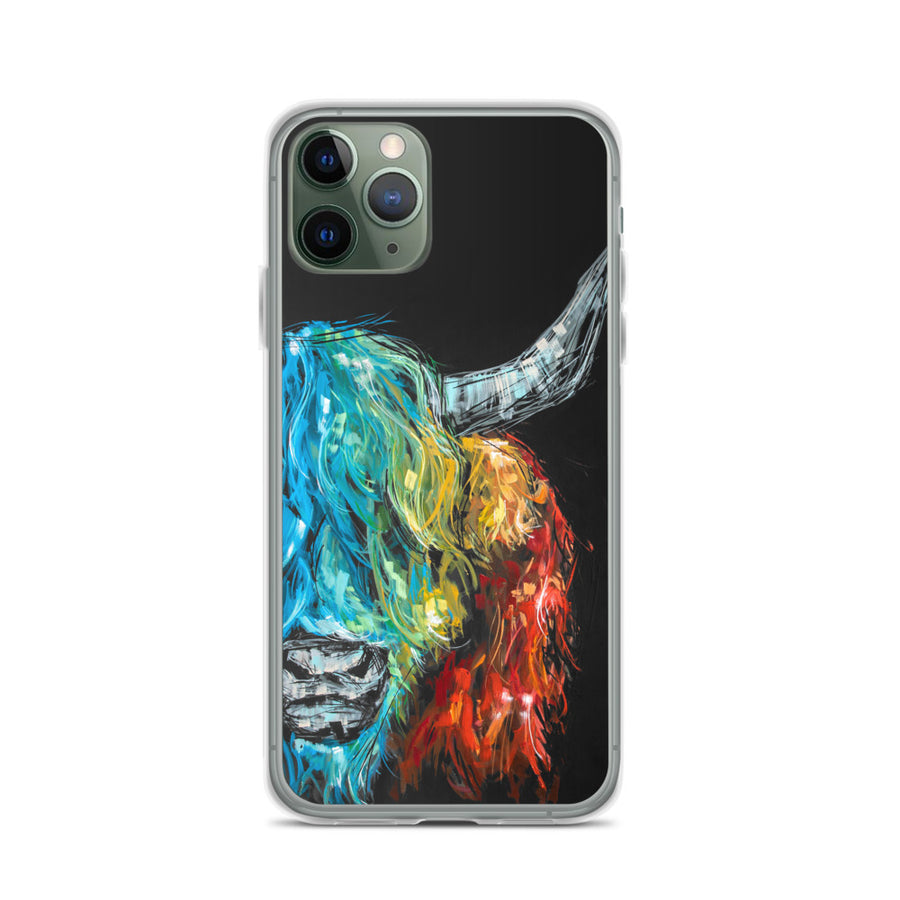 Billy the Highland iPhone Case