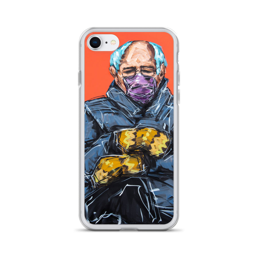 Bernie + the Mittens iPhone Case