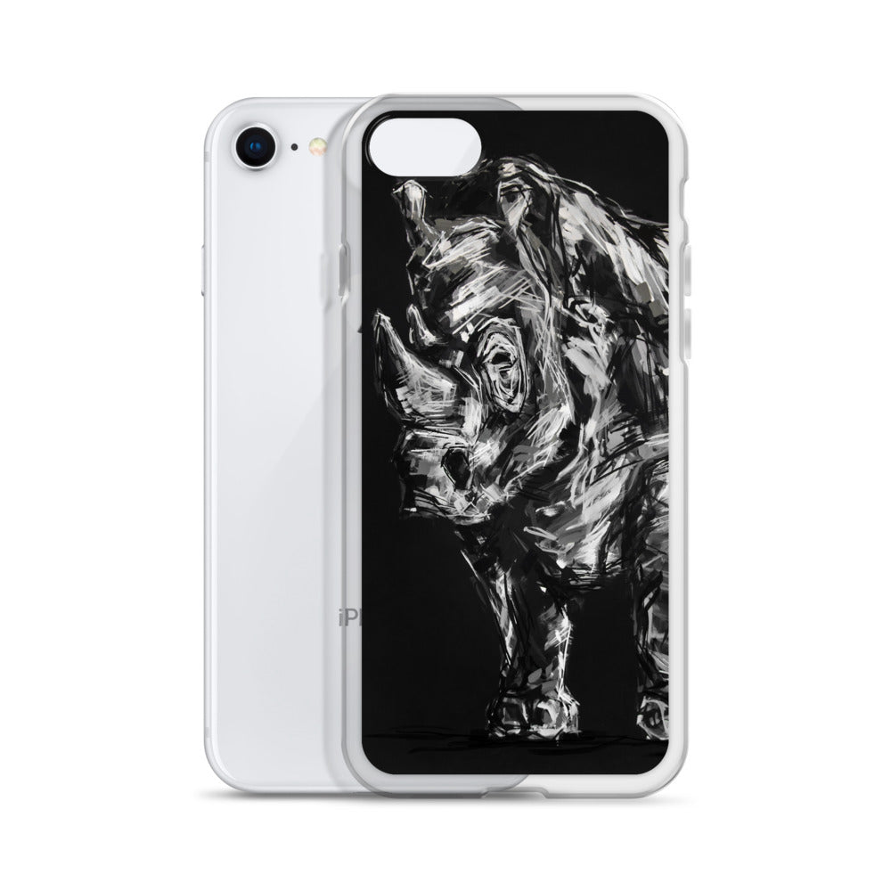 Reginald the Rhino iPhone Case