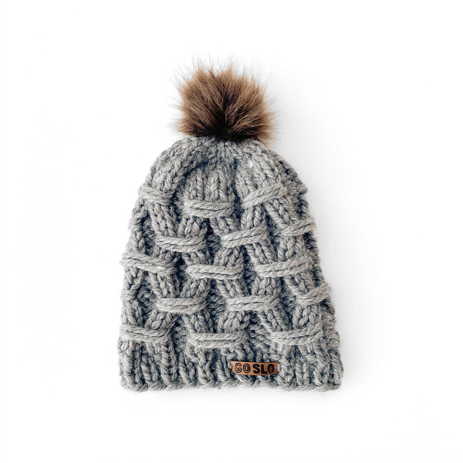 Chunk Cable Knit Cap