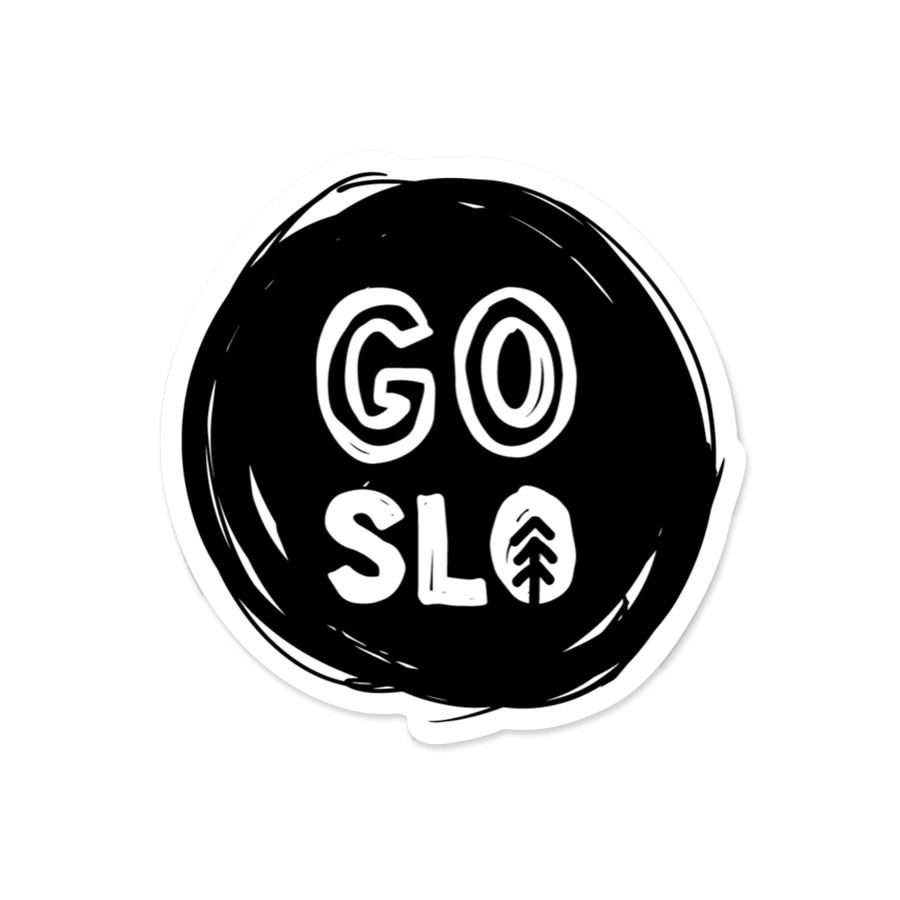 Go Slo Logo Sticker