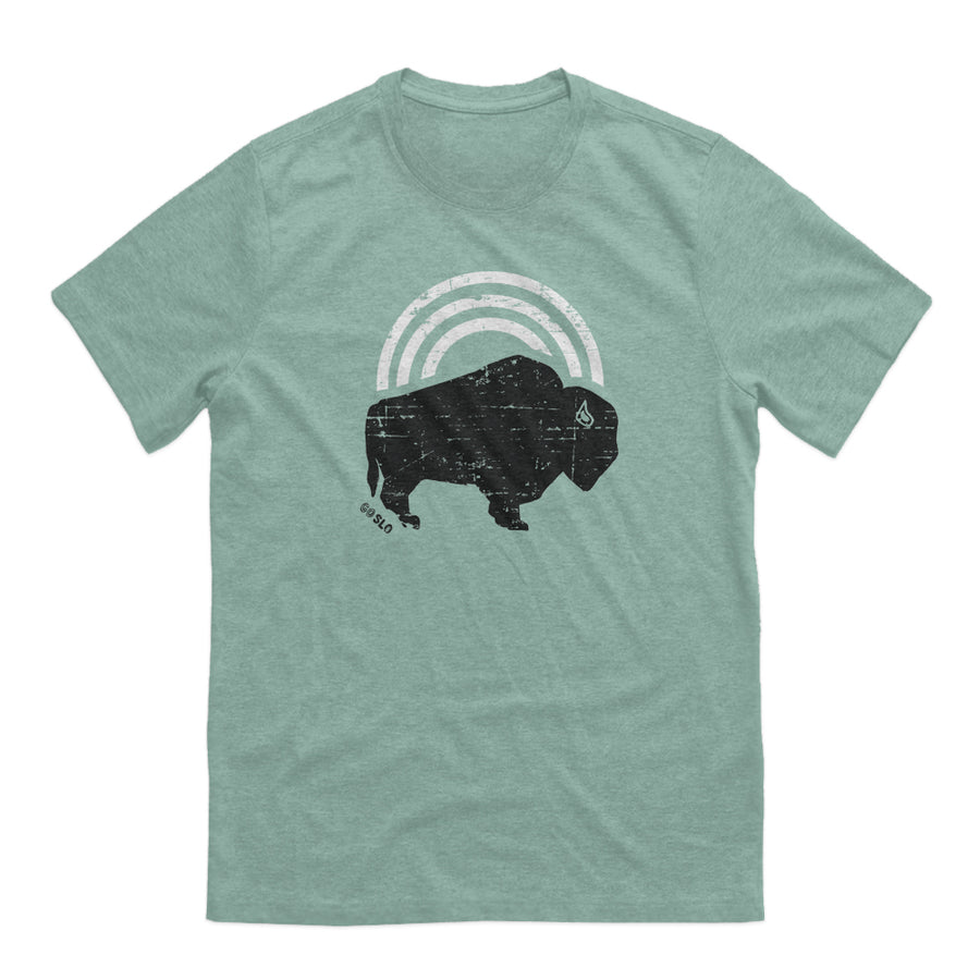 Guys Bison Bow Tee