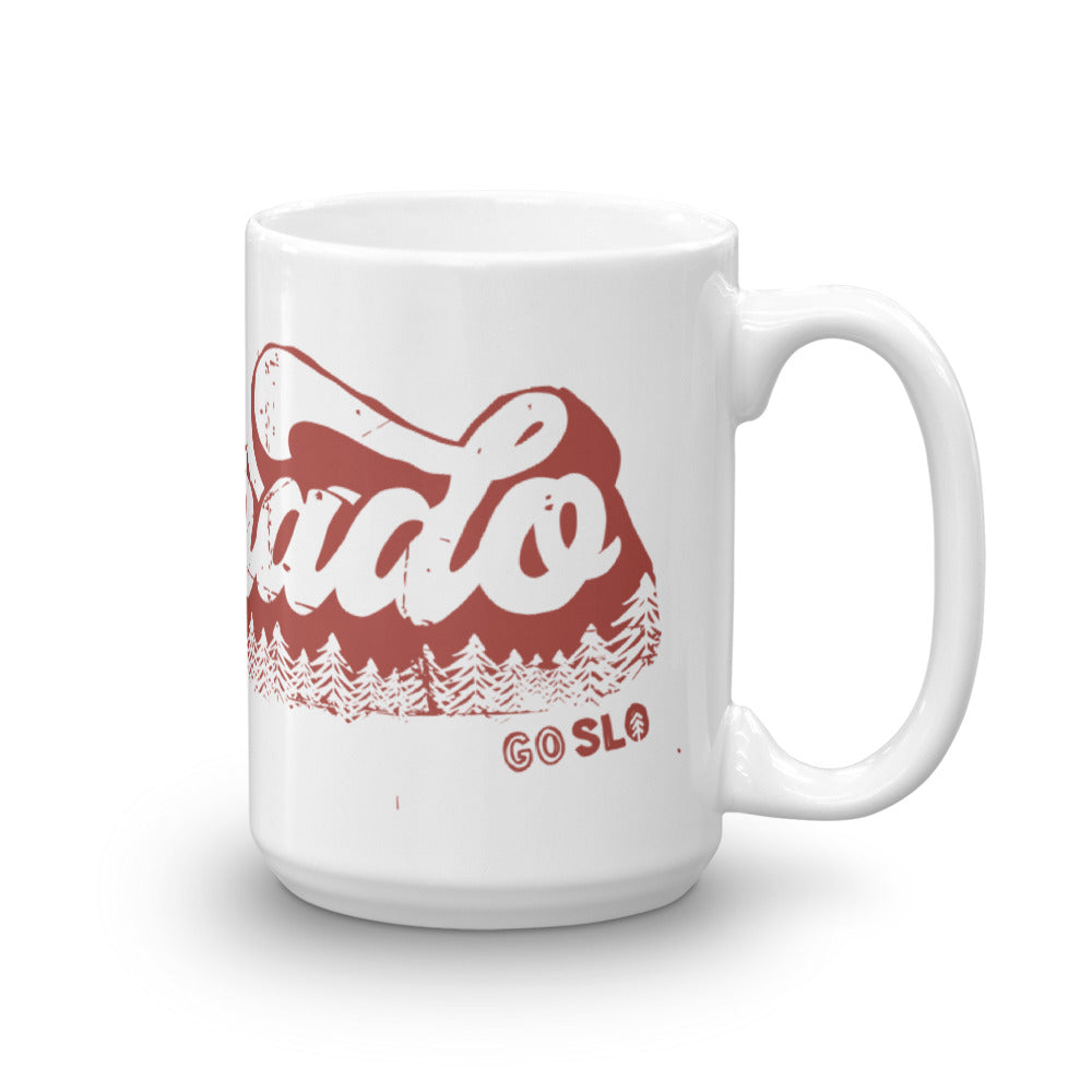 Oversized Vintage Colorado Mug