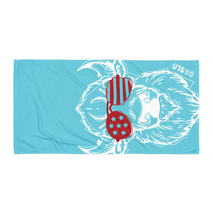 Bison Shades Oversized Beach Towel