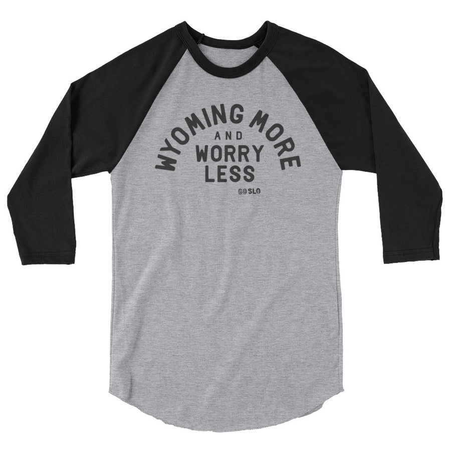 Unisex Wyoming More Baseball Tee