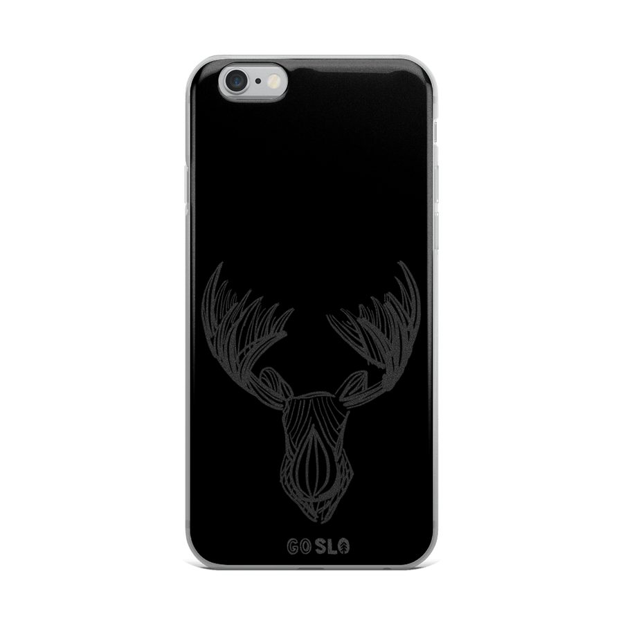 Moose Sketch iPhone Case
