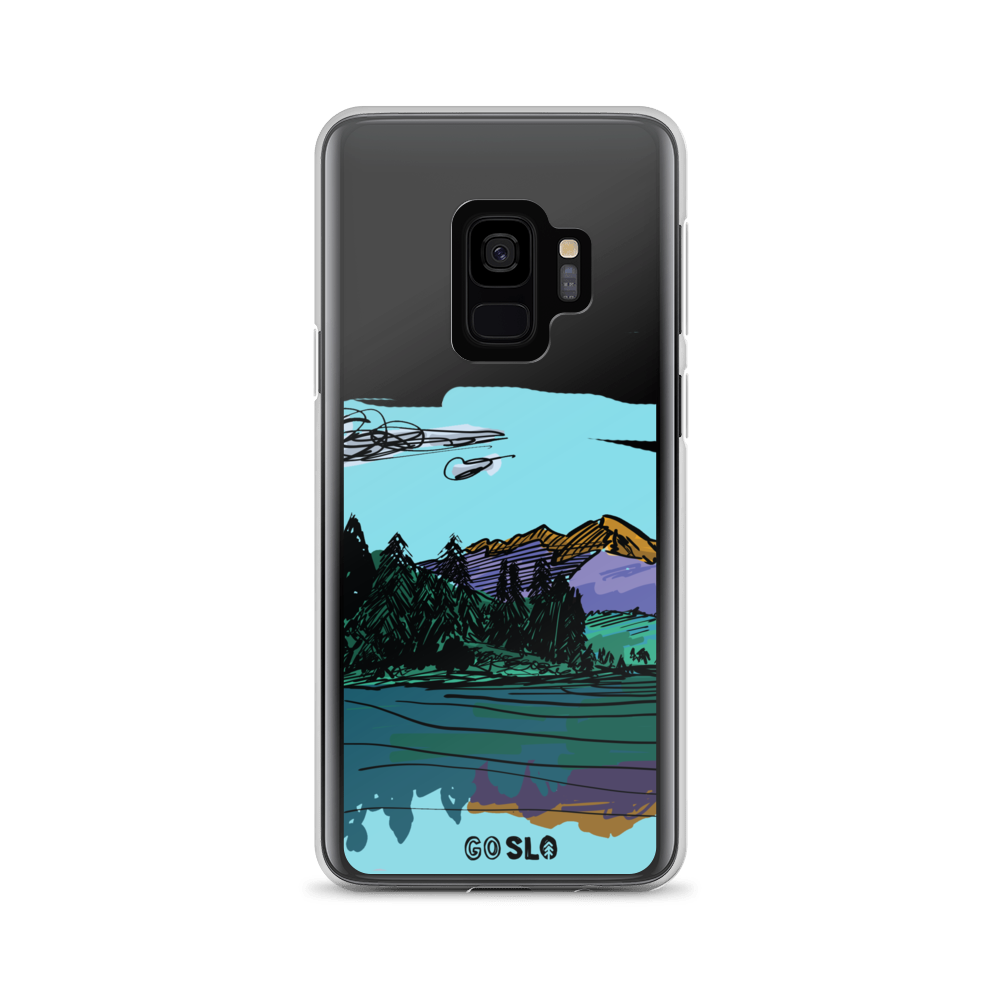 COLORADO // Maroon Reflection Samsung Case