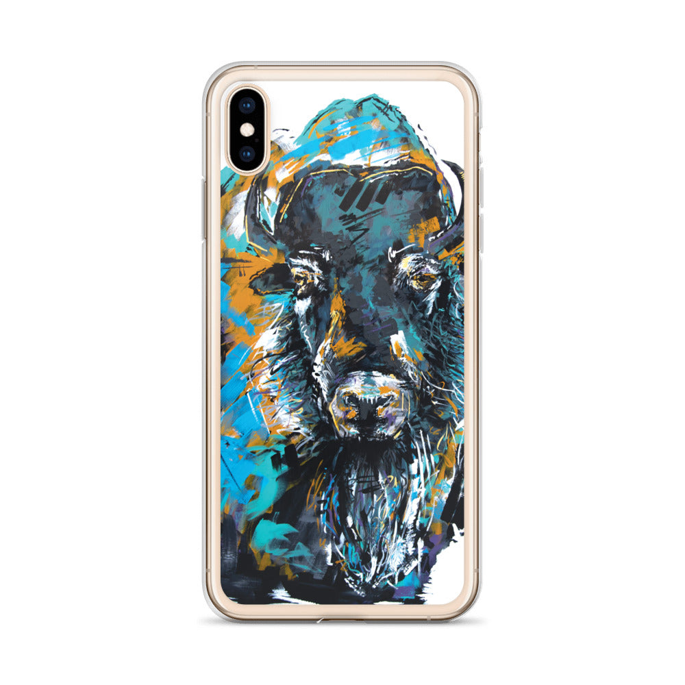 Bison Beard iPhone Case