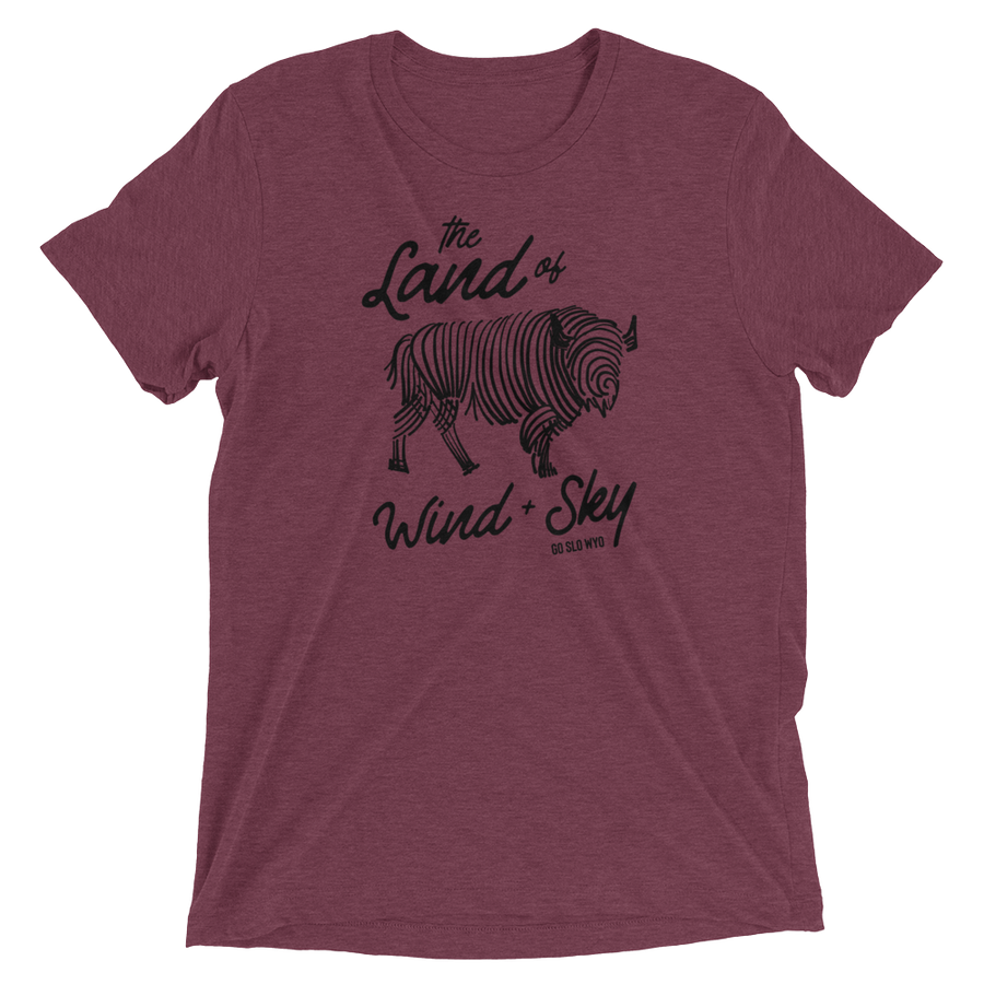 WYO // Guys Wind + Sky Tee