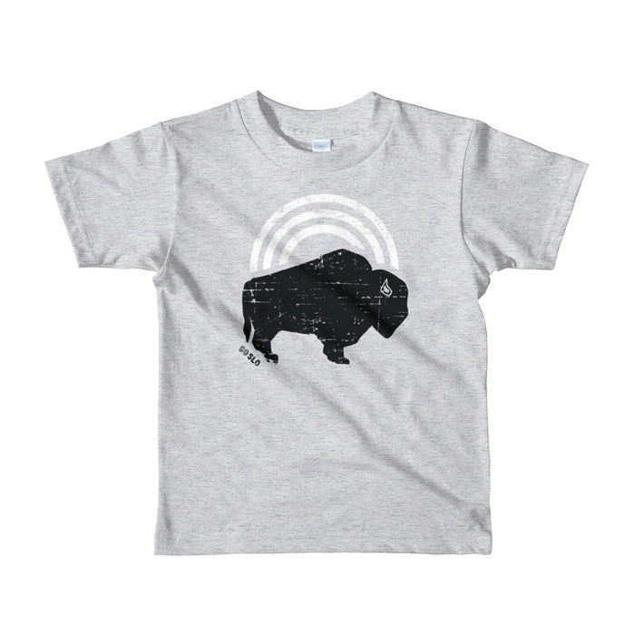 Kiddos Bison Bow Tee